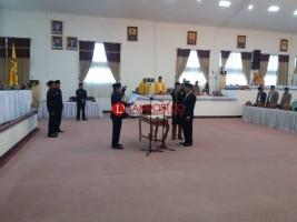 DPRD Lamteng Kembali Lantik Anggota PAW dari Golkar