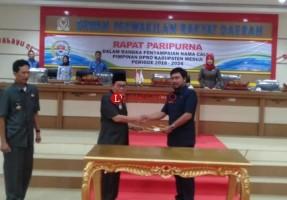 DPRD Mesuji Tetapkan Nama Calon Pimpinan Definitif