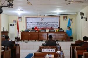 DPRD Pesisir Barat Gelar Paripurna Pandangan Umum Fraksi
