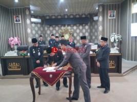 DPRD Way Kanan Gelar Dua Agenda Paripurna