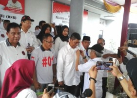 DPW-DPD Relawan Nusantara Bersatu Dikukuhkan