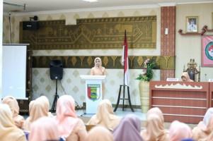 DPW Pesawaran Gelar Sosialisasi Pencegahan KDRT dan Kanker Serviks