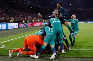 Dramatis! Sempat Tertinggal 2 Gol, Spurs Singkirkan Ajax