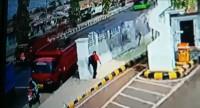 Driver Ojol Tewas Disambar Truk di Depan Bandara