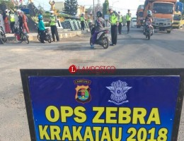 Dua Hari Razia, Polres Lamteng Temukan 210 Pelanggaran