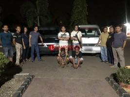 Dua Pelaku Spesialis Pencuri Mobil di Lampura Dibekuk Petugas