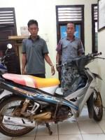 Dua Pencuri Sepeda Motor Diringkus