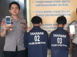 Dua Remaja Penjambret di Talang Padang Dibekuk
