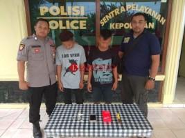 Dua Remaja Tersangka Pencuri Hp Dibekuk