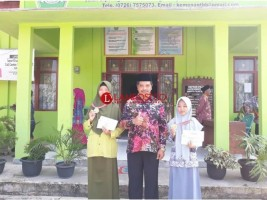 Dua Siswi Madrasah Tubaba Wakili Lampung Diajang KSM Nasional