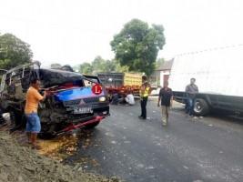 Dua TKP Kecelakaan, 1 Tewas dan 2 Lainnya Luka Parah