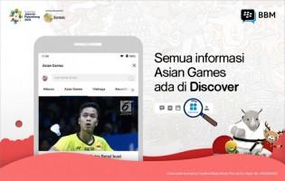 Dukung Asian Games 2018, BBM Hadirkan Fitur Baru