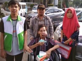 Dukungan Relawan,  Asa Penderita Kanker Rongga Mulut Ini Bangkit