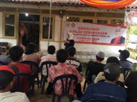Dwita Ria Sosialisasi 4 Pilar Kebangsaan di Sendang Agung