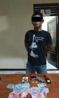 Seorang Warga Ditangkap Simpan Senpi dan Edarkan Sabu