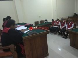 Empat Kurir Sabu 2 Kg Asal Aceh Divonis Berbeda