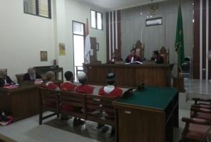 Empat Kurir Sabu Asal Aceh Dihukum 18 Tahun