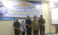 Empat Mahasiswa MalaysiaBelajar di FMIPA Unila
