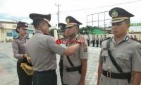 Empat Pejabat Utama Polres Lamsel Diserahterimakan