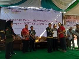 Enam Peternak Petelur Lampung Raih NKV