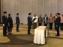 Erwan Bustami dan Antonius Dilantik Jadi Komisioner KPU Lampung Tambahan
