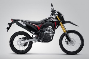 Extreme Black New Honda CRF150L Ramaikan On-Off Sport
