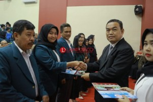 Fakultas Hukum Unila Yudisium 84 Calon Wisudawan