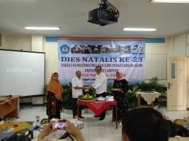 Fakultas MIPA Unila Luncurkan SIM MIPA