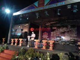 Festival Krakatau Bangun Lampung Jadi Destinasi Wisata