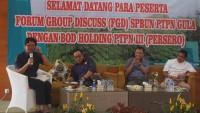 FGD FSBUN-PTPN Holding: PTPN Gula menjadi Satu Entitas Korporasi