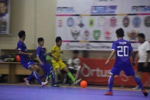 FKM Lampung dan Isori Medan Lolos 8 Besar Liga Futsal Nusantara