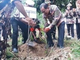 FKPPI Tulangbawang Gelar Tanam 257 Pohon Aren di Bantaran Sungai