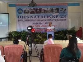 FMIPA Unila Rayakan Hari Jadi Ke-23
