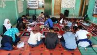 Forum Anak Panjang Belajar Melukis dengan Ampas Kopi