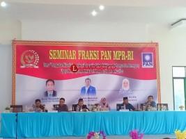 Fraksi PAN MPR RI Gelar Seminar di Lampura