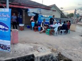 Free Food Car Kombi Beraksi di Pasar Punggur