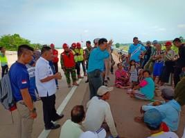 Ganti Rugi JTTS Belum Dibayar, Warga Tanjungratu Unjuk Rasa