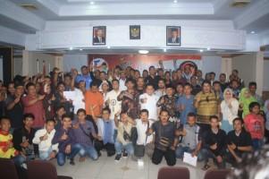Garda Matahari Lantik Pimpinan Jaringan Pemenangan Jokowi-Maruf di Indramayu