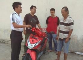 Gelapkan Motor, Pria Paruh Baya Ditangkap Polsek Banjaragung