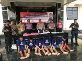 Gelar Ekspose Operasi Sikat Krakatau 2018, Ini Dia Hasil Kerja Mapolres Way Kanan