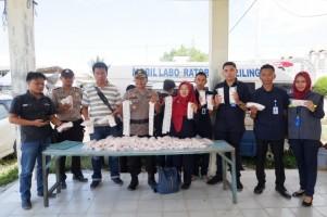 Gelar Sidak, BPOM Temukan Sejumlah Toko Jual Borak di Pasar Unit II