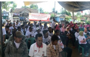 Gelar Sosialisasi Empat Pilar di Selagai Lingga, Dwita Ria Ajak Warga Saling Menghargai dalam Keberagaman