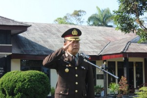 Gelar Upacara Hari Kesaktian Pancasila, Polres Lambar Kenang Kekejaman PKI