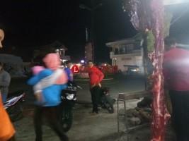Gempa Banten Bikin Warga Liwa Berhamburan