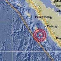 Gempa Bumi 5,6 SR Guncang Kepulauan Mentawai