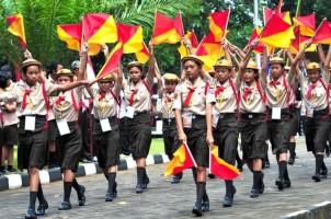 Gerakan Pramuka Matangkan Karakter Generasi Muda
