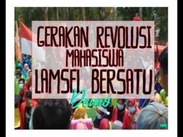 Gerakan Revolusi  Mahasiswa Lampung Selatan Bersatu