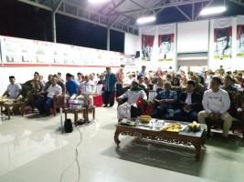Gerindra Lampung dan Partai Koalisi Prabowo-Sandi Gelar Nobar Debat Capres