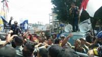GMBI Orasi Dikantor Wali KotaPertanyakan Soal RTH
