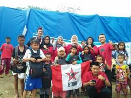 GMNI Serahkan Bantuan untuk Korban Tsunami
